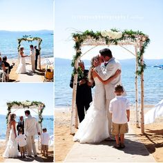 What a great backdrop for a wedding! Lovely You Photography captures this special moment perfectly.  More here: http://snapknot.com/wedding-photographer/4590-Lovely-You-Photography