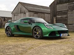 Lotus Exige S….NOW this would be my car for the month of March….love that green