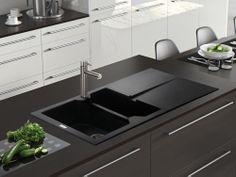 Rok Granite Sinks : ... Rok granite sink. http://www.sinks-taps.com/item-10156-RAZOR_1_5_ROK