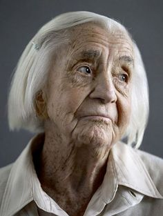 Happy At One Hundred: Portraits of Centenarians, by photographer Karsten Thormaehlen visualnews.com