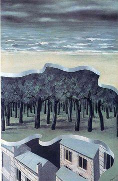 Rene Magritte - Popular panorama , 1926