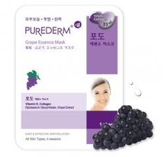 Purederm Grape Essence Mask