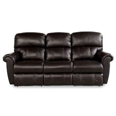 LAZBOY 44P-701 Briggs Leather Power Reclining Sofa | Hope Home Furnishings and Flooring