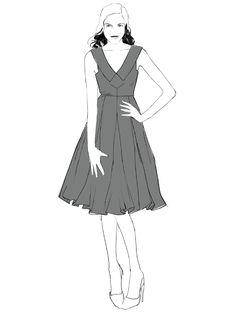 Sophia Dress Sewing Pattern – By Hand London Pdf Sewing Patterns, Clothing Patterns, Dress Patterns, Diy Clothing, Sewing Clothes, By Hand London, Sophia Dress, Paper Fashion, Diy Dress