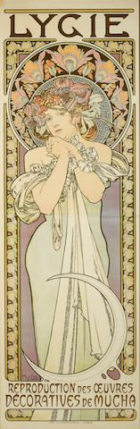 Alphonse Mucha (1860-1939) Lygie (R./W. 77), 1901 Prints and Multiples, Los Angeles, April 18 2017