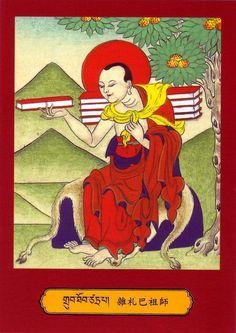 Mahasiddha Saktrapa..........Catrapa  Chatrapāda (tsa tra pa), The Beggar Who Carries the Book