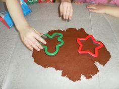 Cinnamon-Apple Sauce dough ornaments and Salt dough ornament recipes.