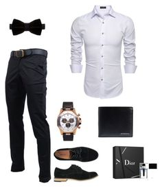 """""""Untitled #3"""" by nedzada-97 ❤ liked on Polyvore featuring Duchamp, X-Ray, Givenchy, Burberry, Christian Dior, men's fashion and menswear"""