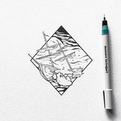 Tattoo design by @ariarosso #designspiration #thatgoodtype - View this on https://www.instagram.com/Designspiration/