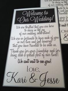 Wedding Gift Basket Notes : Wedding Door Hangers, Destination Wedding, Wedding Welcome Bag ...
