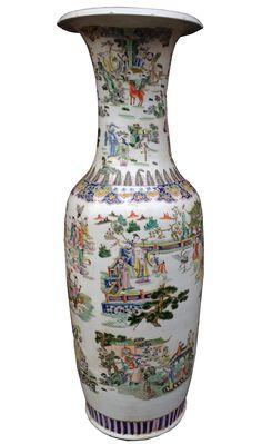 Arredamento D'antiquariato Complementi D'arredo Collection Here Vaso Imari Ceramica Giappone Asia Xix S Antico Deco Orient Blu Rosso Attractive Appearance