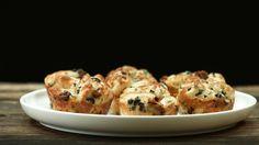 Pull Apart Knoblauch-Muffins