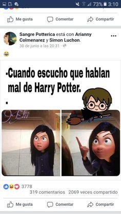 Harry Potter Images, Harry Potter Fandom, Harry Potter World, Funny Spanish Memes, Spanish Humor, Hogwarts, Harry Potter Sorting, Drarry, Draco Malfoy