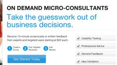 Become a micro-consultant at AskYourUsers.com