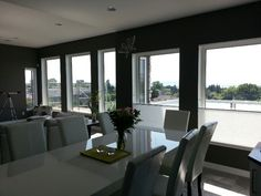 3M Prestige 40 window film.  Cuts glare, heat and protects furnishings from fading.  Why not protect your home?