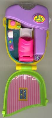 1998 Polly Pocket Flashlight Fun - Hot Stuff - Mattel 21951