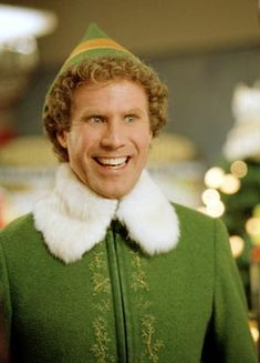 "Will Ferrell...I've found many of his films to be entertaining, but his role as Buddy in ""Elf"" is one of my favorites!"