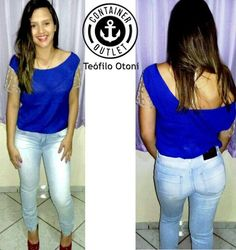 Calça jeans 49,99! Blusa 49,99! #Vemprocontainer #Containeroutlet #Modafeminina #Grandesmarcas #Pequenospreços