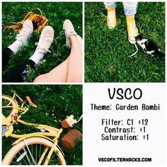 Обработка фото в Instagram: 50 VSCO пресетов для стильного профиля - Rusability