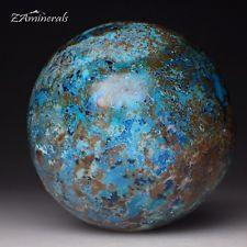 Shattuckite Chrysocolla Sphere The Democratic Republic of the Congo DRC UJ23