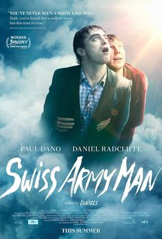 SWISS ARMY MAN movie poster No.2