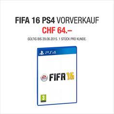 NEU FIFA 16 FÜR PS4