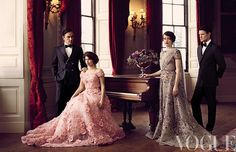 The Crown and Elie Saab - Oh my! On The Crown And Our Fascination With The Royal Family Netflix Series The Crown, The Crown Series, Crown Netflix, Princess Elizabeth, Princess Margaret, Princess Of Wales, Queen Elizabeth Ii, Pink Princess, Clare Foy
