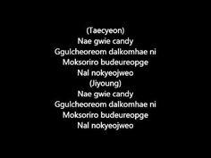 [korean] Baek Ji Young - My Ear's Candy (Ft. Taecyeon) AUDIO + LYRICS - YouTube