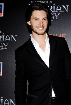 "Ben Barnes at The Premiere of ""Dorian Gray"" at Kinepolis Cinema in Madrid."
