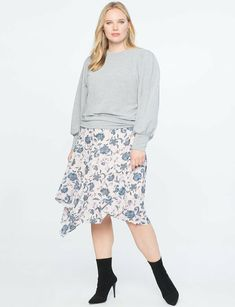 6be383010ce View our Asymmetrical Midi Skirt and shop our selection of designer women s plus  size Skirts