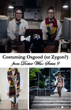 Costuming Osgood or Zygon? from Doctor Who: Series 9 (@Invasionofthestuffies Atlanta Bbc Blog Cosplay Cosplayer Costume Costumer Day Of The Doctor Death In Heaven Doctor Who Scarf Dragoncon Fourth Doctor Lab Coat Missy Night At The Aquarium Osgood Scarf Sonic Screwdriver Tardis Twelfth Doctor Vans Whovian Zygon Invasion DragonCon Halloween)