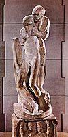 Michelangelo: Pieto Rondanini, 1500-luku, renessanssi Michelangelo, Tent, Greek, Statue, Store, Tents, Greece, Sculptures, Sculpture