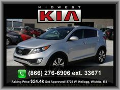 2012 Kia Sportage EX SUV  Anti-Theft Alarm System, Fuel Type: Regular Unleaded, Front Reading Lights, Speed-Proportional Electric Power Steering, Rear Door Type: Liftgate, Tires: Speed Rating: H, Front Leg Room: 41.4, Rear Quarter Windows: Wiper Park,