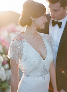 French countryside wedding inspiration | Photo by Bryan Miller | Read more - http://www.100layercake.com/blog/?p=84139
