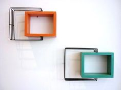 Mega RARE Pair Machine Age Industrial Atomic Mid Century Wall Art Shadow Boxes | eBay