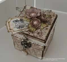 GORGEOUS explosion box from http://moniquelokhorst.blogspot.com/2011/08/magnolia-ink-explosiebox.html