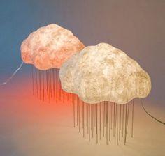 nubes luminarias