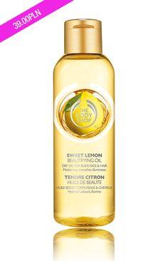 Olejek o zapachu cytrynowym.
