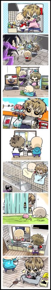 |One Punch Man| Genos x Saitama!! This is just a BL fan fiction ^^