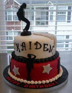 Michael Jackson cake for Icing Smiles child
