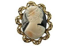 A vintage cameo is the perfect Valentine's Day gift.