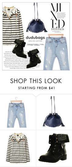"""""""dudubags"""" by water-polo ❤ liked on Polyvore featuring stylebyyam, Joules, Envi, Refresh, polyvoreeditorial and dudubags"""