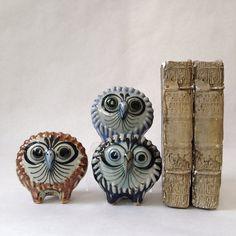 mid century trio of Ken Edwards pottery by sophisticatedflorida