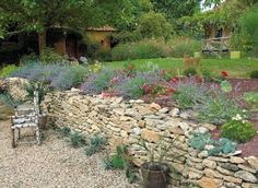 www.rustica.fr - Comment retenir la terre d'un jardin en terrain escarpé