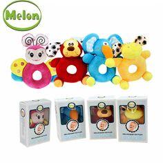 Melon-High-Quality-Cartoon-Animals-Watchband-Plush-Rattles-Classic-Baby-Toys-Baby-Educational-soft-toys-No.jpg (750×750)