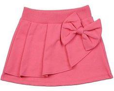 Adapt pattern to skort for Livie Frocks For Girls, Dresses Kids Girl, Kids Outfits, Little Girl Skirts, Kids Frocks Design, Baby Frocks Designs, Baby Dress Design, Baby Skirt, Skirts For Kids