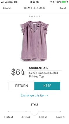 I work for a university and our colors are purple and gold. This might be a cute top.