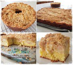 APPLE CRUMBLE CAKE | No Excuses!
