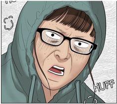 Funny Webcomics, Anime Meme Face, Memes Funny Faces, Webtoon Comics, Me Too Meme, Best Face Products, Reaction Pictures, True Beauty, Manhwa
