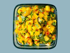 Mango Salat, Cantaloupe, Chili, Stuffed Peppers, Vegetables, Foods, Cilantro, Cooking, Food Food